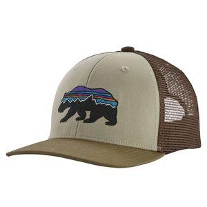Patagonia Fitz Roy Bear Trucker Snapback Hat